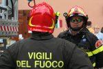 Trieste, Doberdò del Lago: In fiamme una vasta area boschiva
