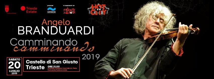 Angelo Branduardi - Camminando camminando 2019